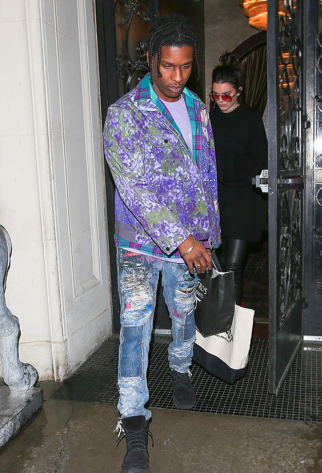 SPOTTED: A$AP Rocky In Charlotte Maëva-Perret Jacket and Alexander Wang Boots