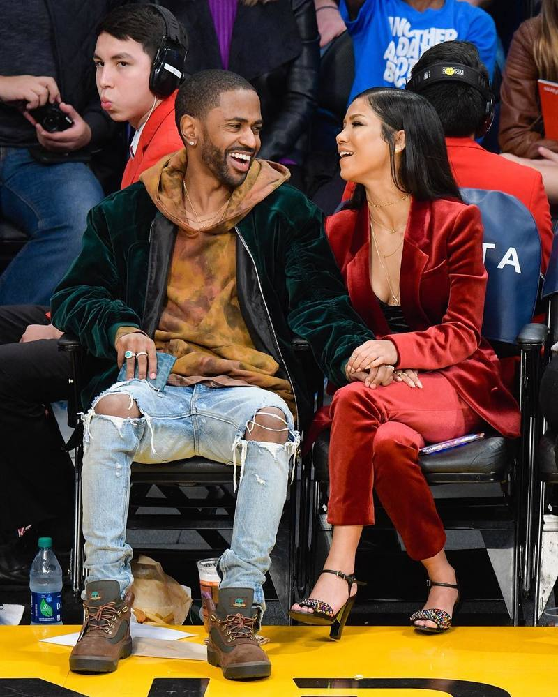 SPOTTED: Big Sean In Nid de Guepes, Rhude, Fear Of God & Timberland