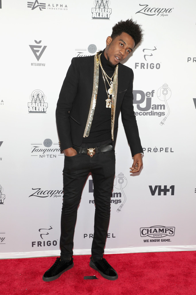 SPOTTED: Desiigner In Balmain And Gucci At The Def Jam Party