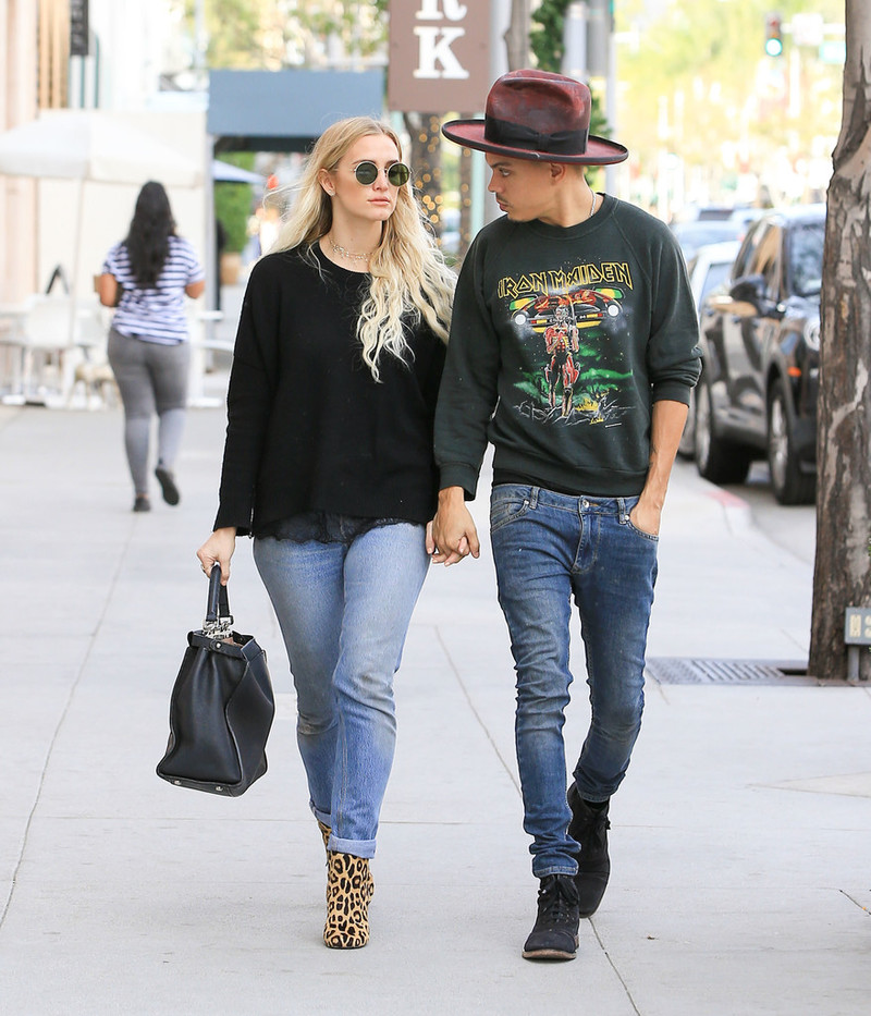 SPOTTED: Evan Ross In John Varvatos & Gunner Foxx