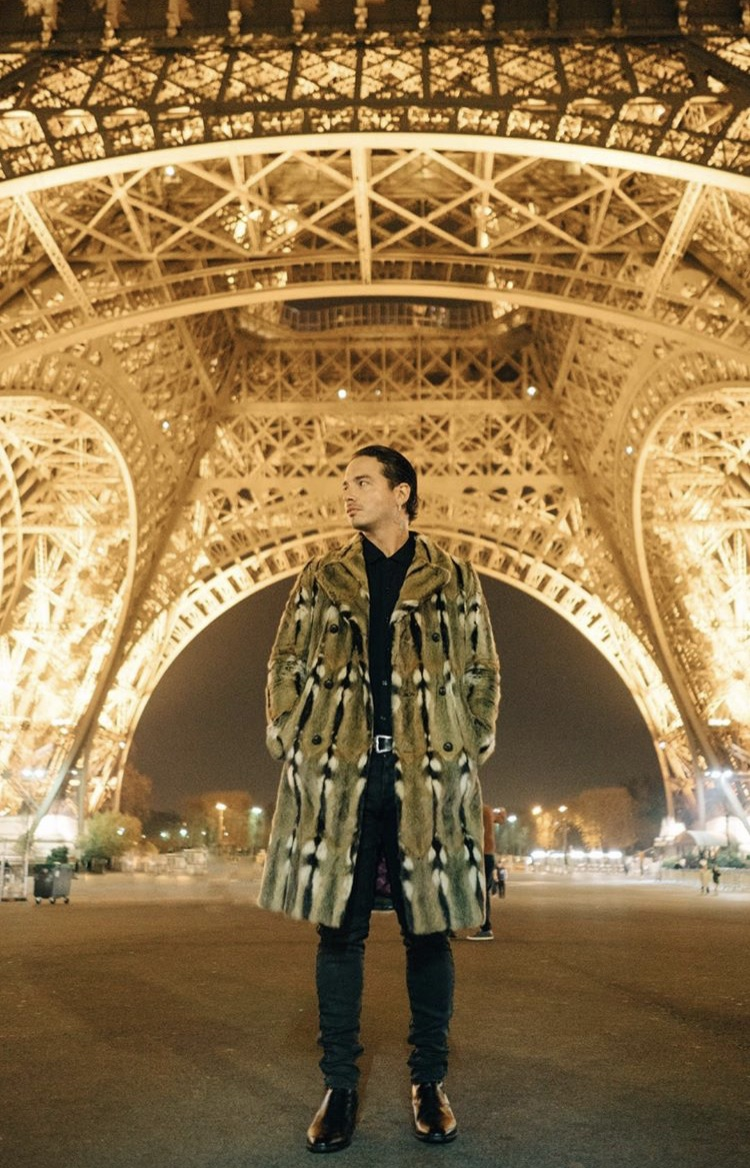 SPOTTED: J Balvin Wears Gucci In Paris