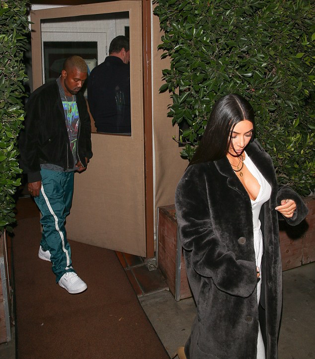 SPOTTED: Kanye West With Kim Kardashian Seen Out In Unreleased Adidas Sneakers