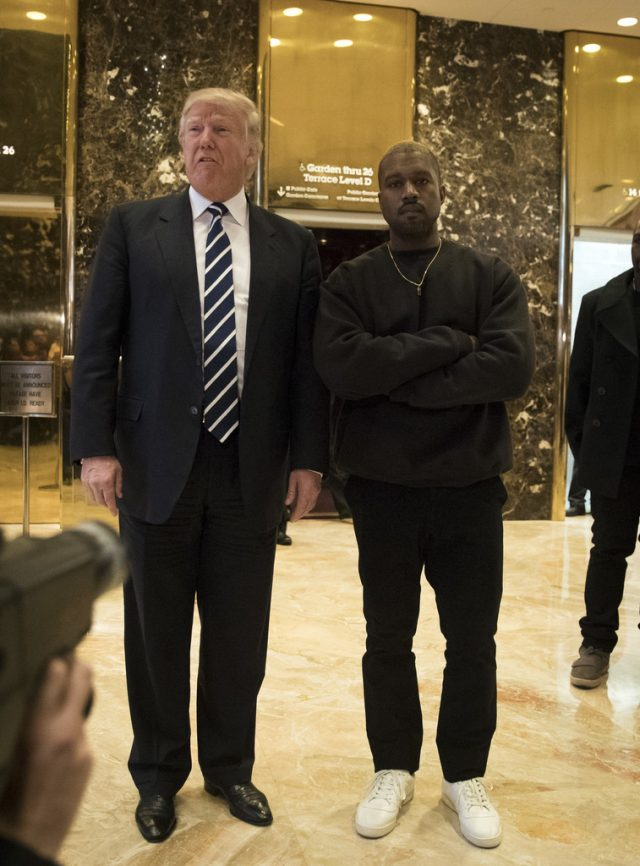 Kayne West Meets Trump In Unreleased Adidas Yeezy Calabasas