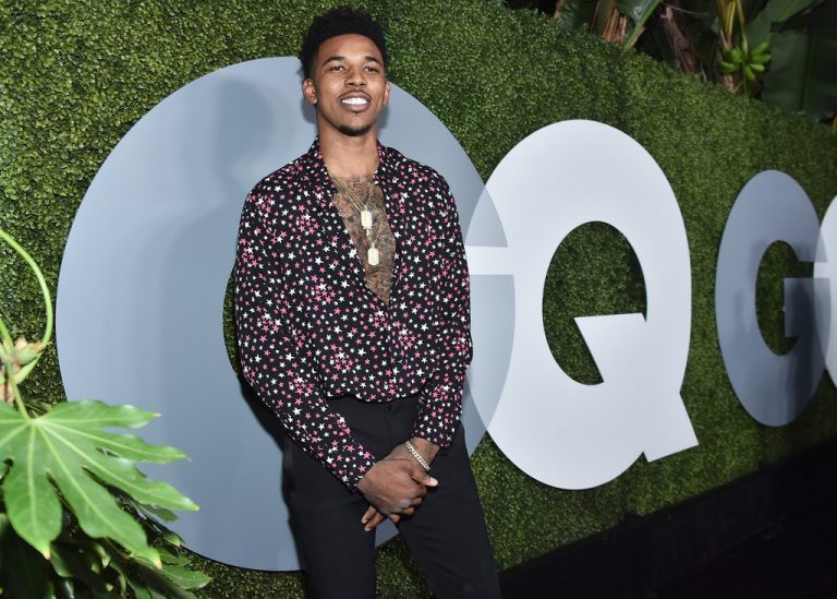 SPOTTED: Nick Young In Saint Laurent Shirt