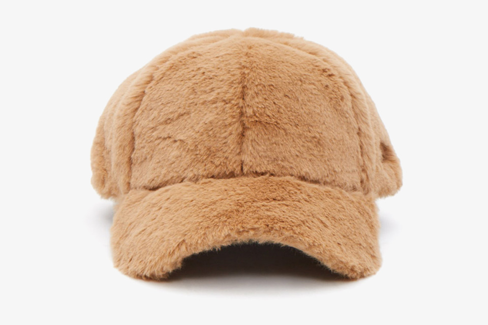 Faux Fur Baseball Cap Collection From Opening Ceremony