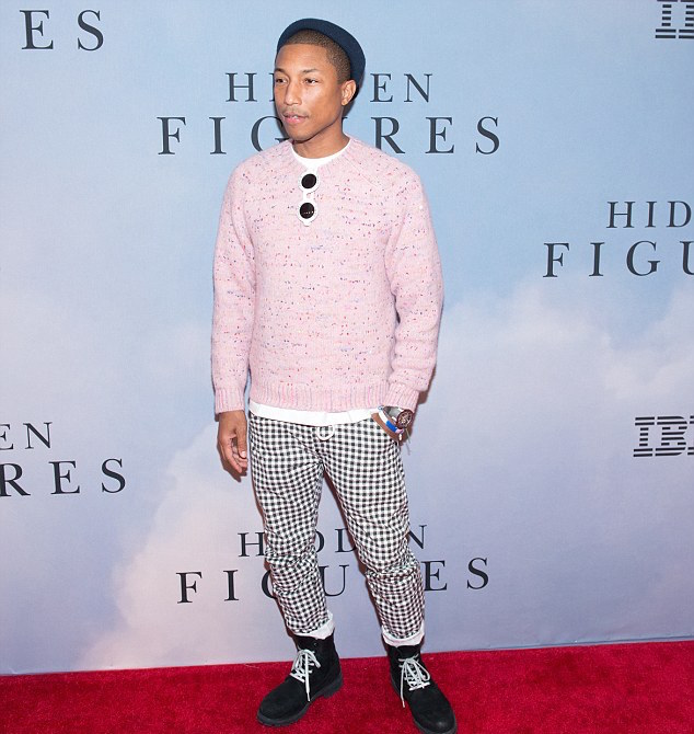 SPOTTED: Pharrell Williams Wears Chanel Sunglasses and G-Star Jeans