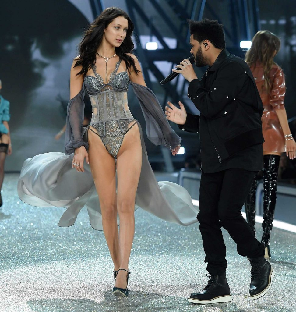 SPOTTED: The Weeknd In Givenchy At Victoria's Secret Show