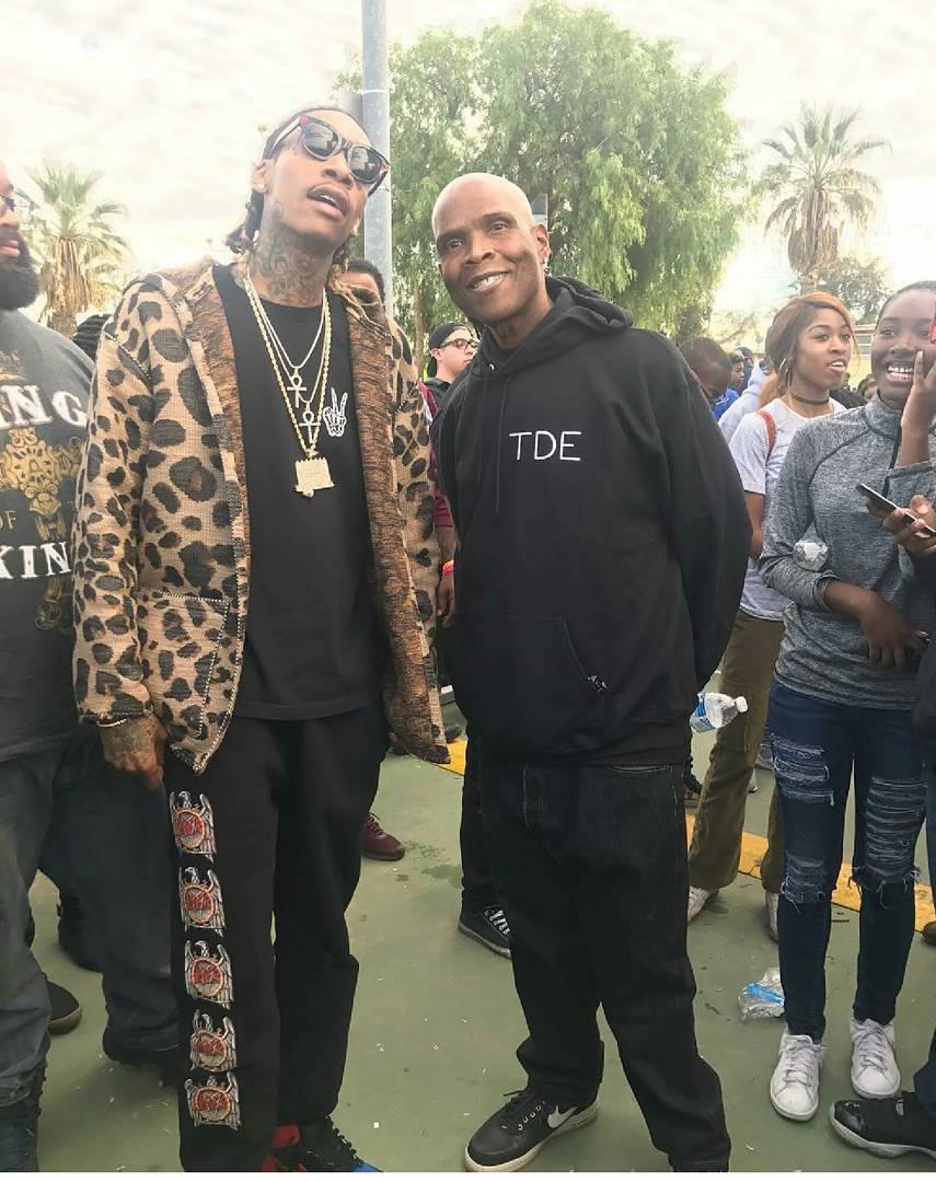 SPOTTED: Wiz Khalifa in Supreme x Slayer and Air Jordan Sneakers