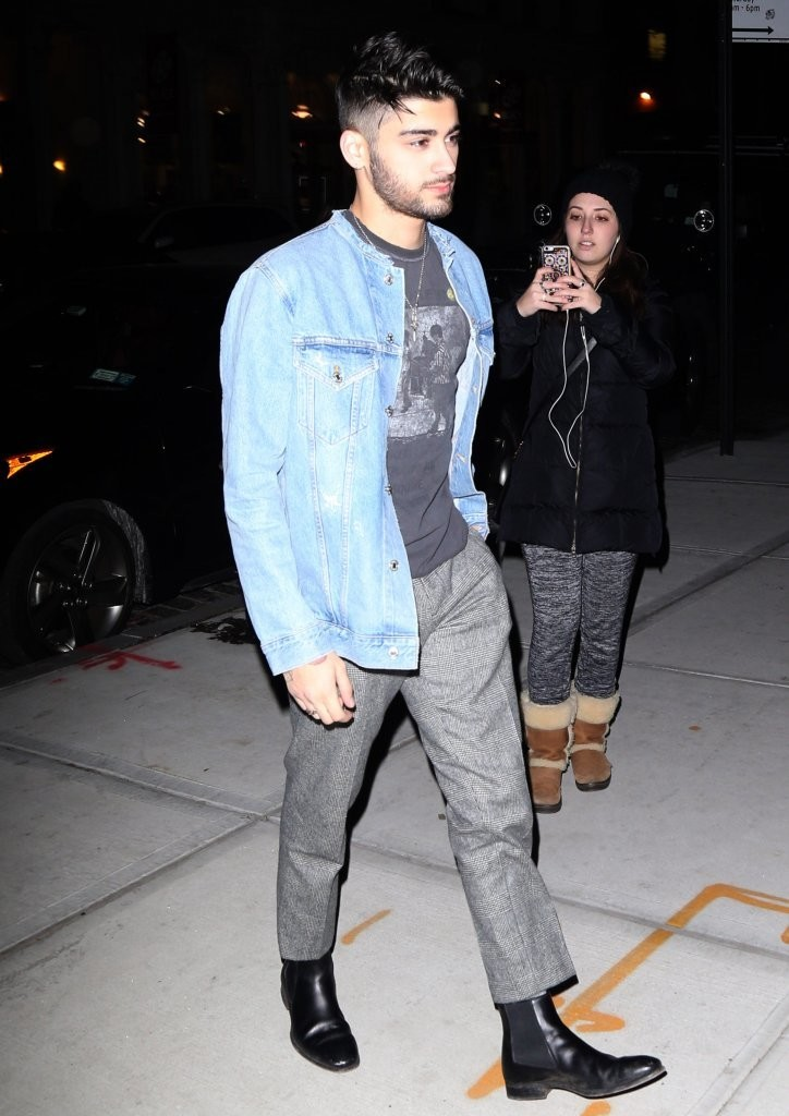SPOTTED: Zayn Malik in Acne Studios