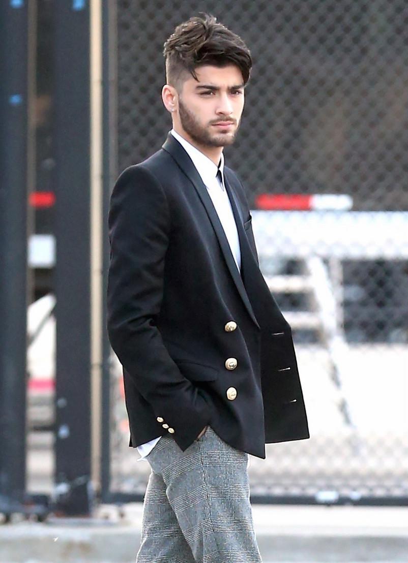 SPOTTED: Zayn Malik Wearing Balmain Blazer