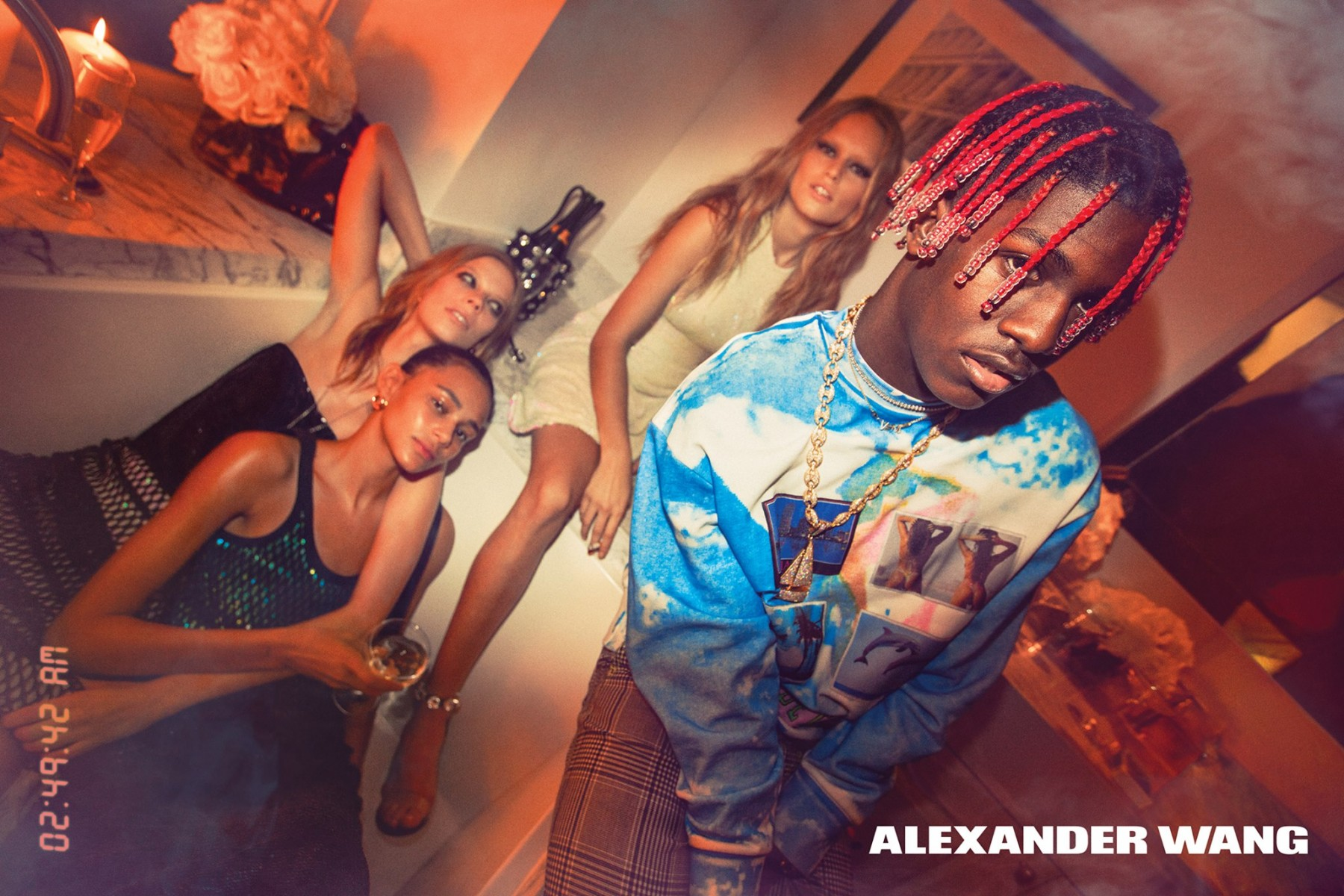 Lil Yachty For Alexander Wang Spring/Summer 2017 Ad Campaign