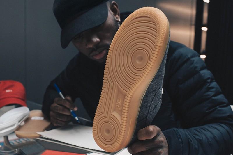 Bryson Tiller Designs His Own Nike Air Force 1s