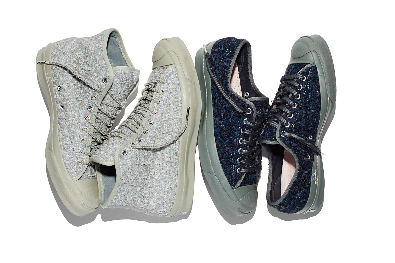 Converse And BUNNEY Release Jack Purcell Silhouette