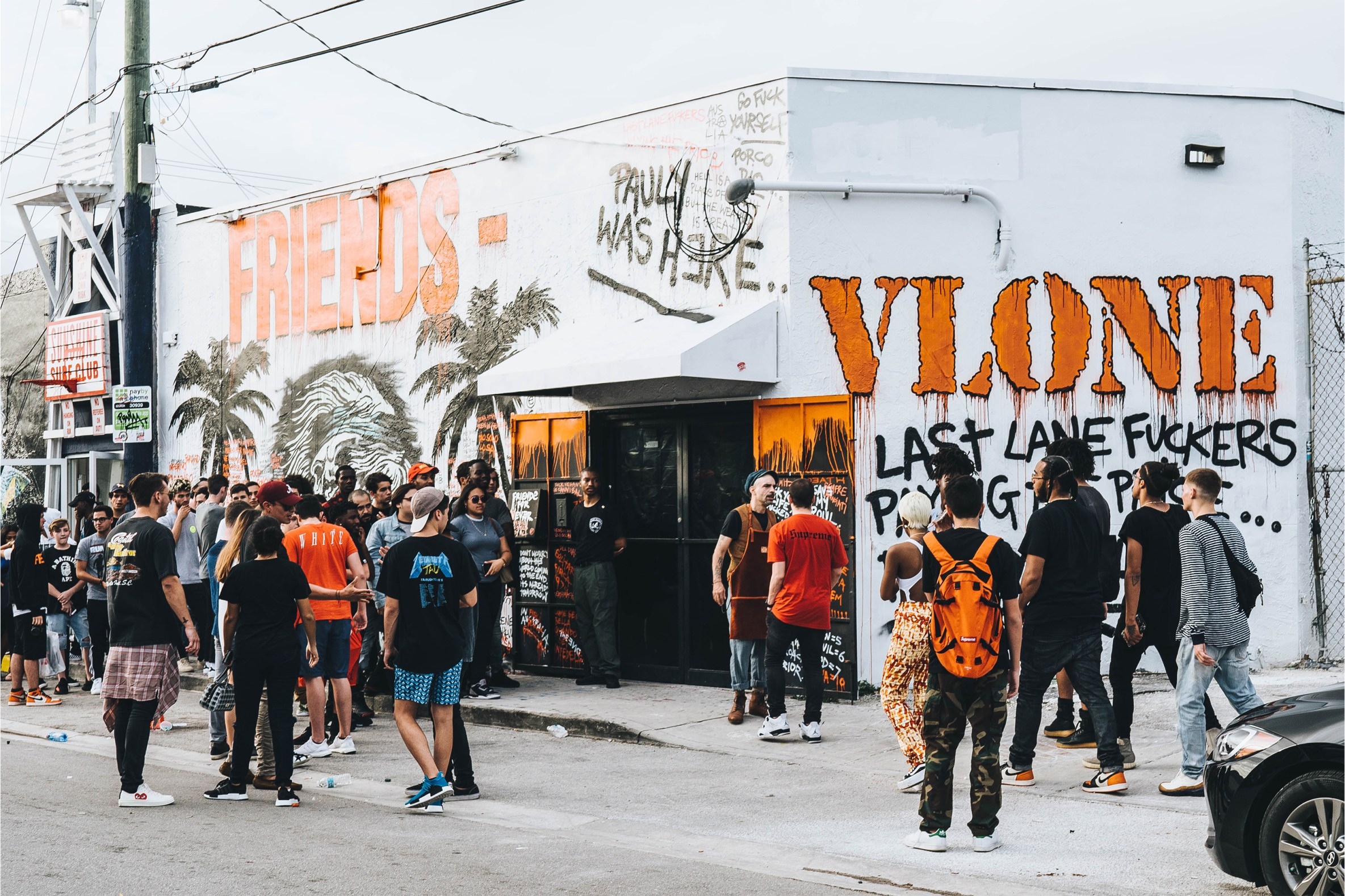 Check Out The VLONE Pop Up At Miami's Art Basel