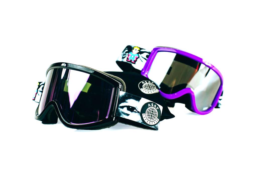 KidSuper x A$AP Mob For A Ski Goggle Range