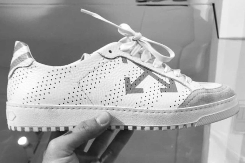 OFF-WHITE Teases Us With New Diagonal Sneaker