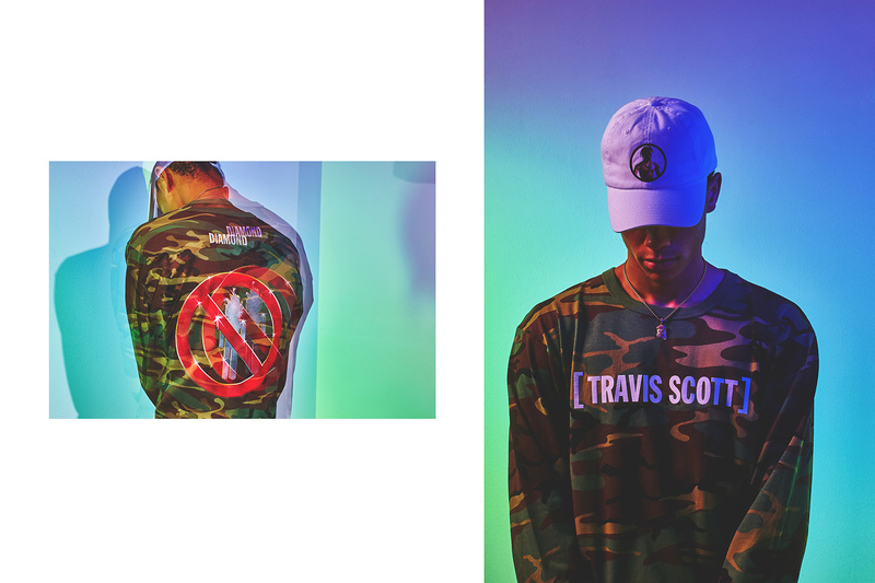 Travis Scott x Diamond Supply Co. Collaborate For The Second Time