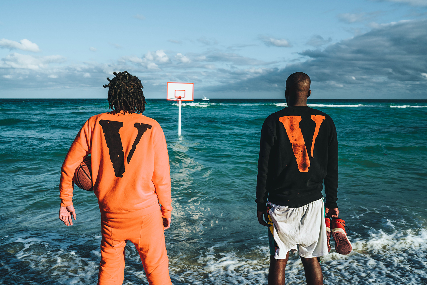 VLONE Collaborate With OFF-WHITE On Sweatsuits
