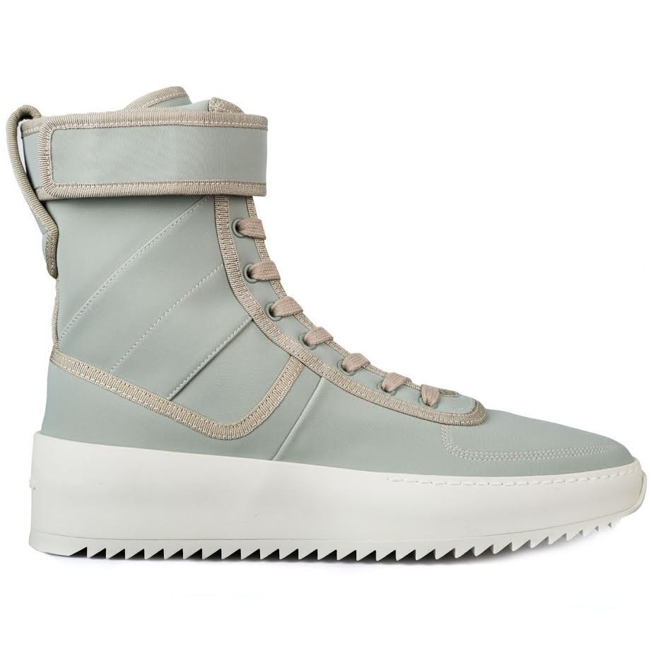 Fear of God Military Boot Releases in Mint Green Exclusively at RSVP Gallery