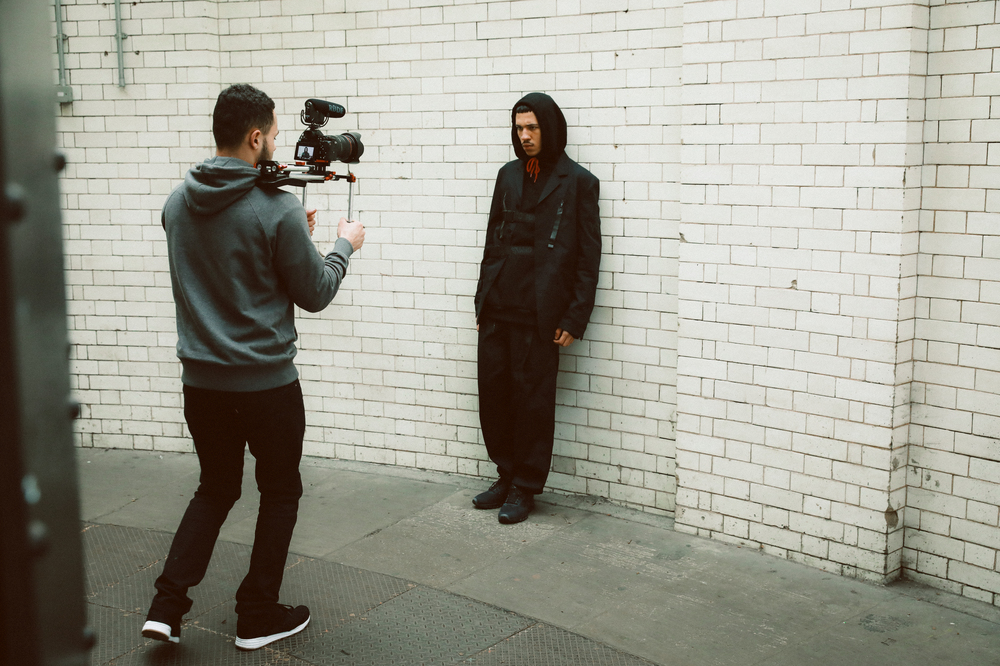 See Behind-The-Scenes At The PAUSE x Foot Locker Editorial