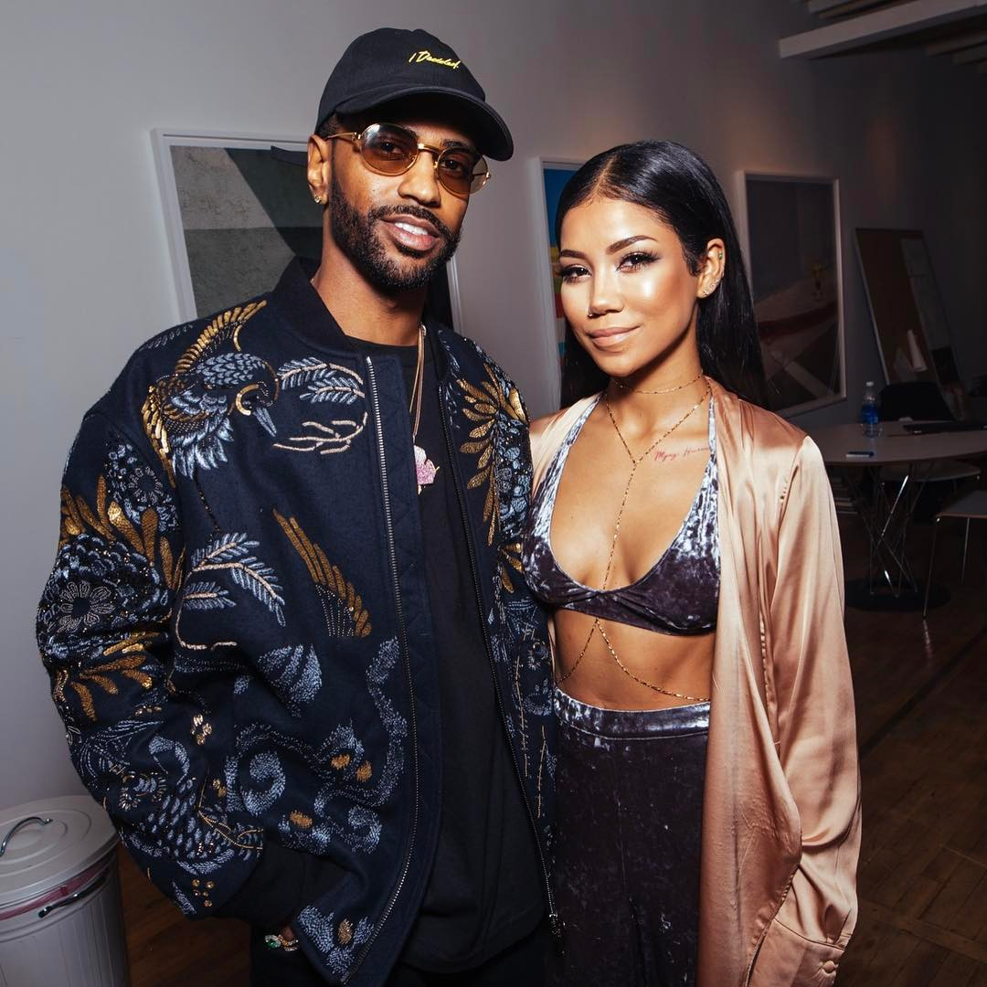 SPOTTED: Big Sean Hosts Album Listening Party Wearing I Decided Dad Cap And Ports 1961 Jacket