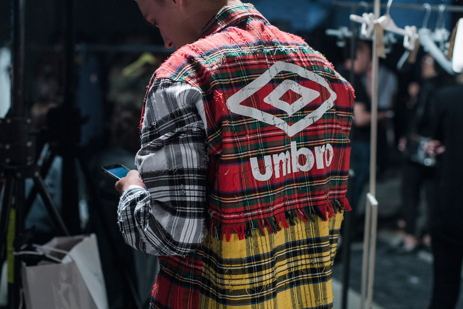 Virgil Abloh's OFF-WHITE x Umbro Collaboration Is Now Available