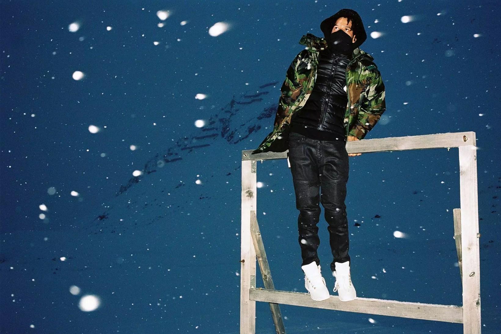 """SSENSE Produce """"20 Below Zero"""" Editorial For Neil Barrett's Skiwear Range"""