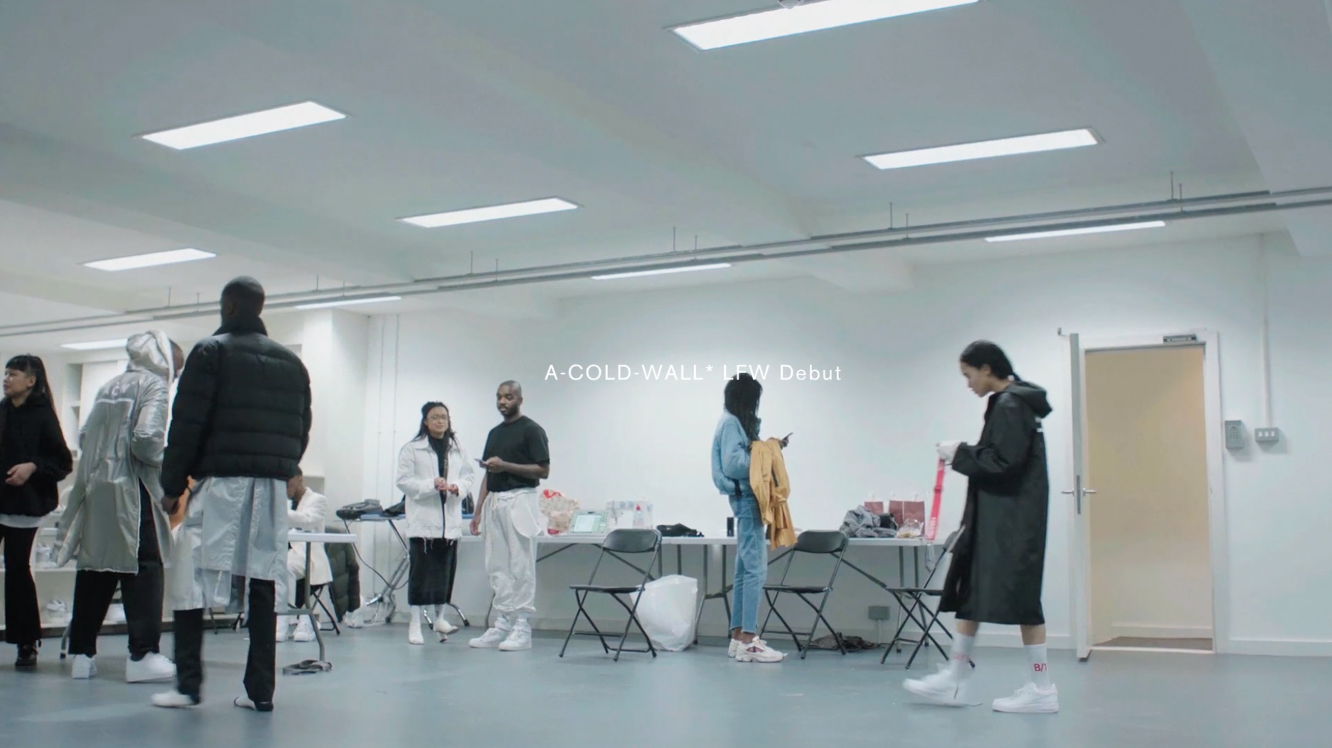 Watch Behind The Scenes At A-COLD-WALL*'s LFWM 2017 Debut