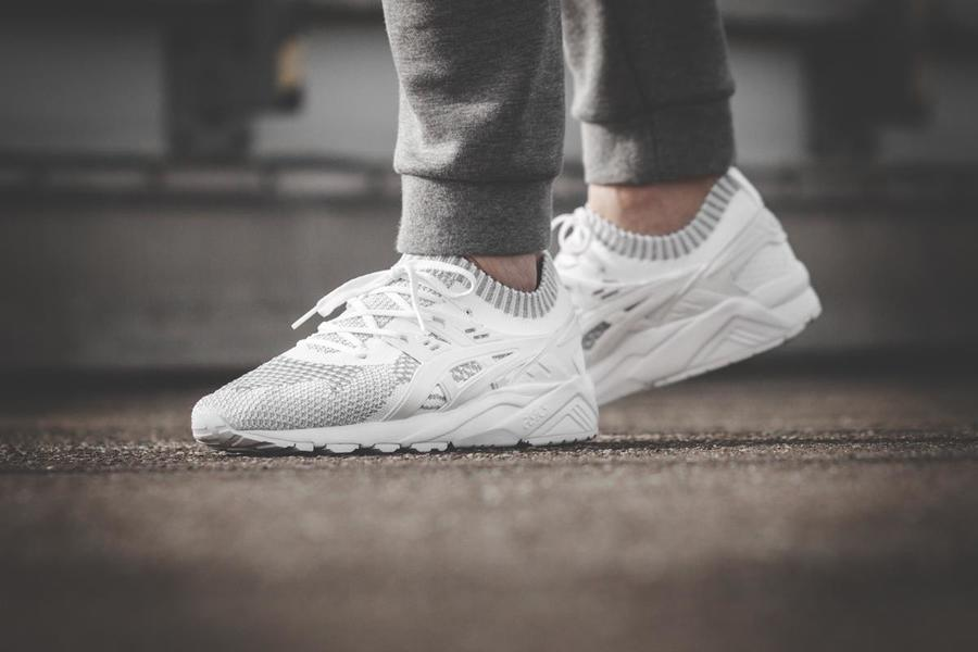 """Gel Kayano Trainer Knit Reflective Armour Released in """"Silver/White"""""""