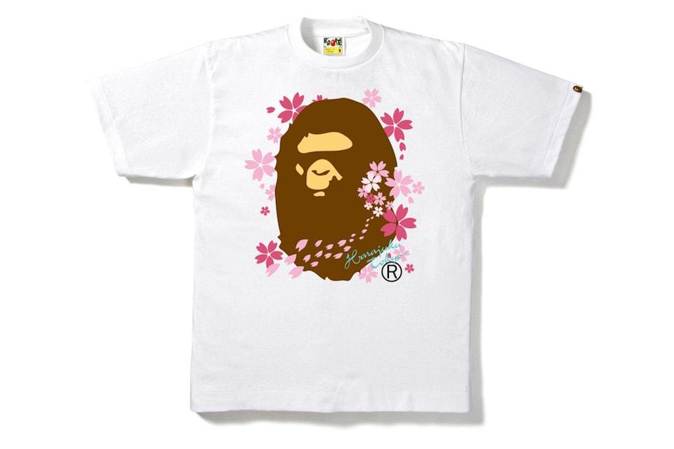"BAPE Announce Floral ""Sakura"" T-Shirt Capsule Collection"