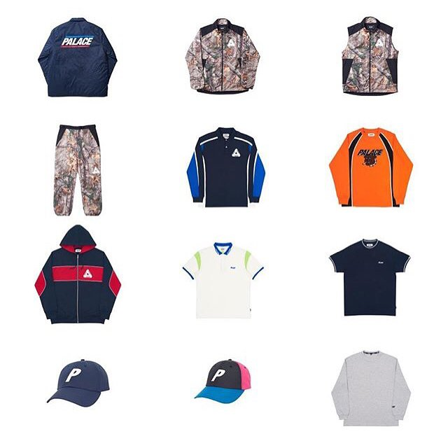 Palace Skateboards Release Third Spring/Summer 2017 Drop