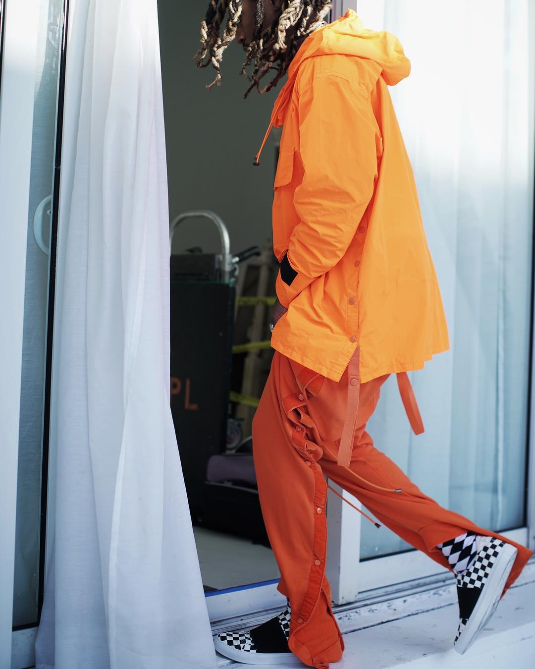 SPOTTED: Future For Billboard Magazine In Ela Anorak And Givenchy Sneakers