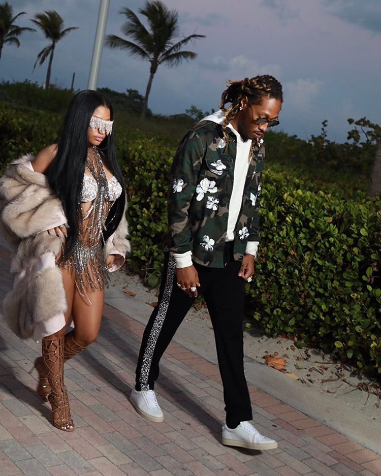SPOTTED: Future Shoots Music Video With Nicki Minaj In Valentino, McQueen and Givenchy