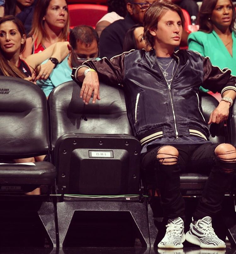 SPOTTED: Jonathan Cheban in 3.1 Phillip Lim and Adidas