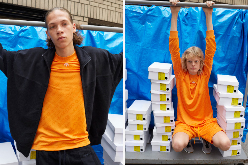 adidas Originals By Alexander Wang Lookbook Shot By Juergen Teller