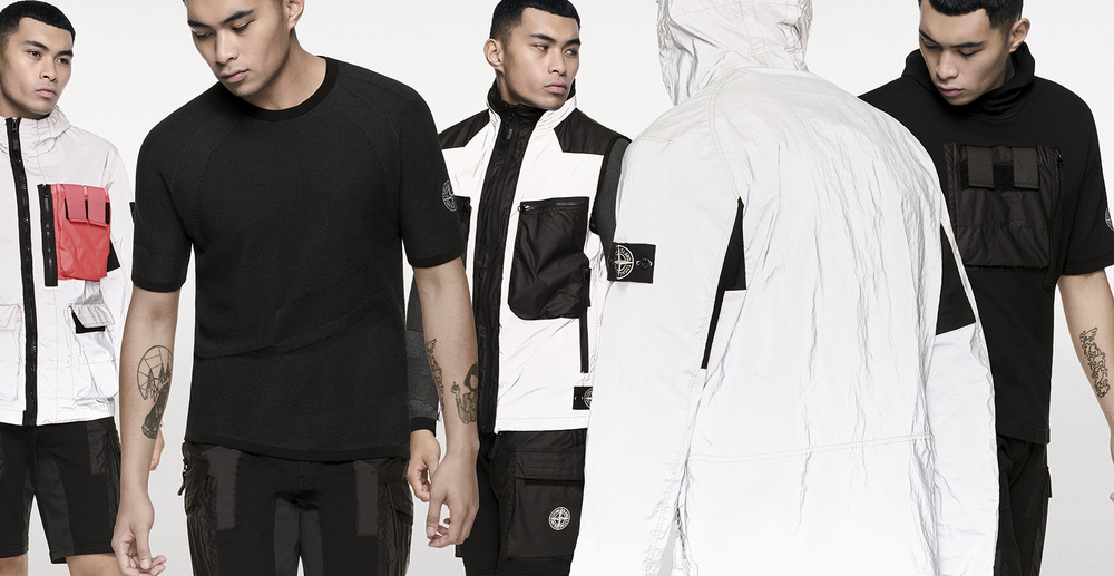 Stone Island Release Activewear References For Spring/Summer 2017