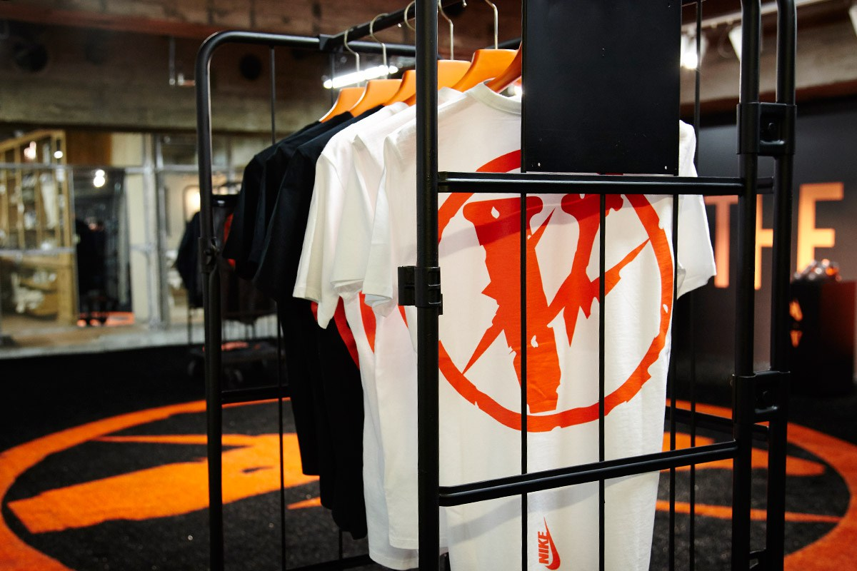 VLONE x fragment design THE PARK・ING GINZA Pop-Up Shop