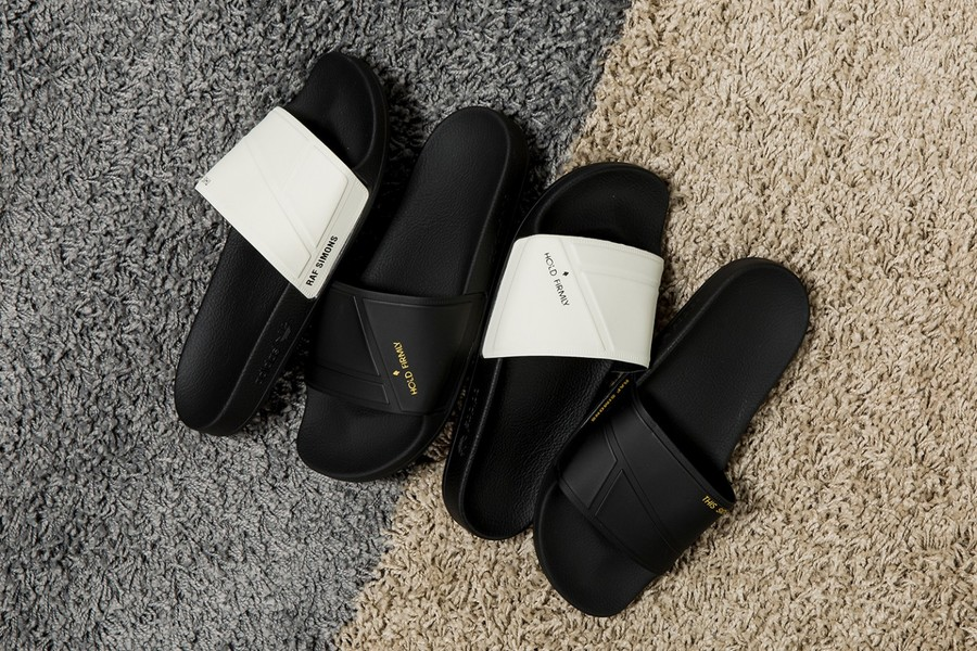 adidas by Raf Simons Launches Bunny Adilette Slides