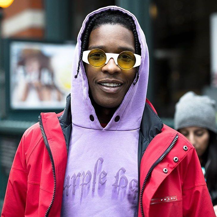 SPOTTED: A$AP Rocky in Prada, Palm Angels and Gosha Rubchinskiy x Super