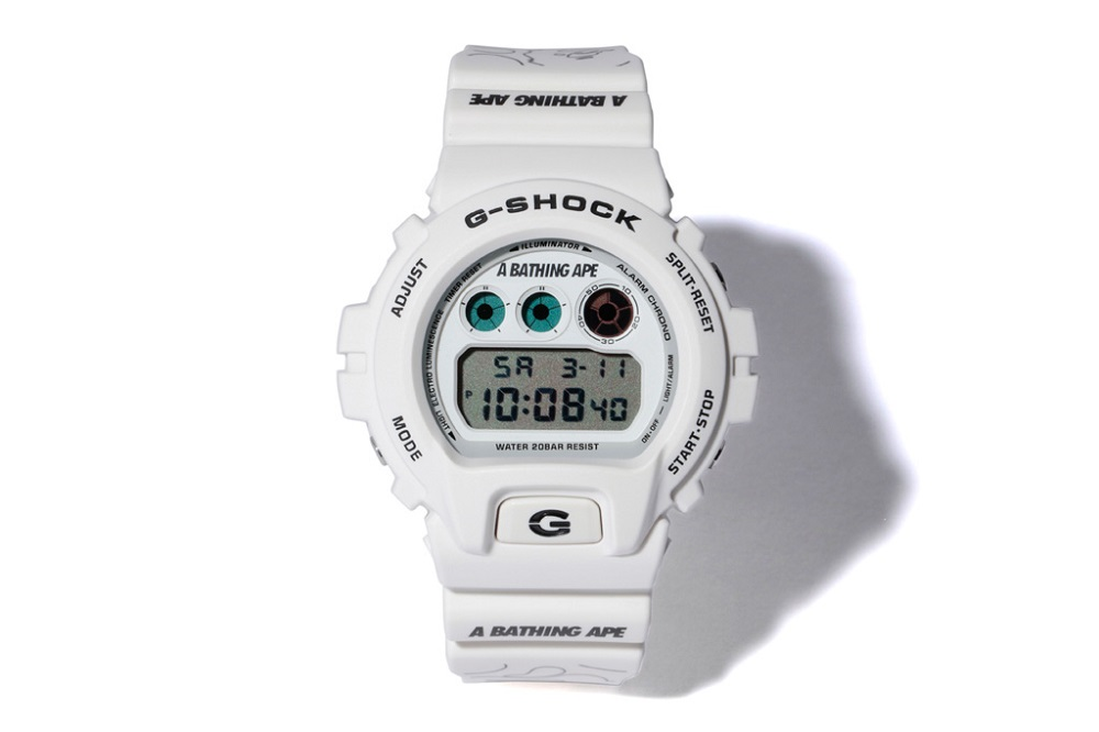 BAPE x G-Shock Watch Collaboration