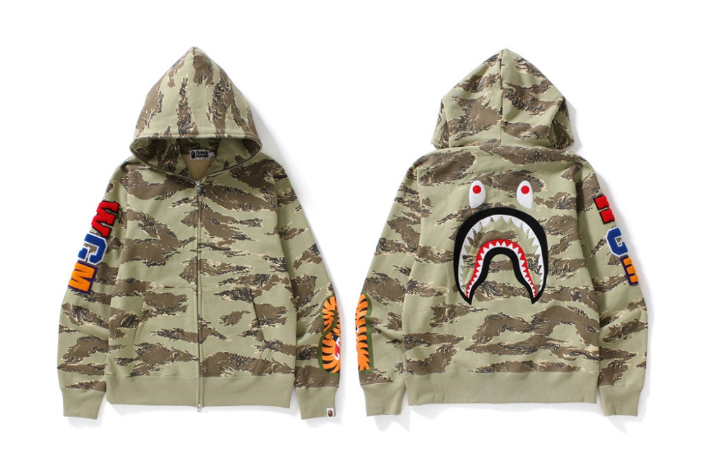"BAPE Introduced New ""Tiger Camouflage"" Pattern"