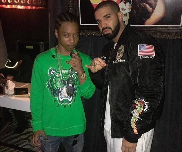 SPOTTED: Drake in Schott Bomber Jacket