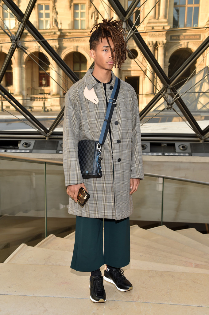 SPOTTED: Jaden Smith in Louis Vuitton Coat at Paris Fashion Week