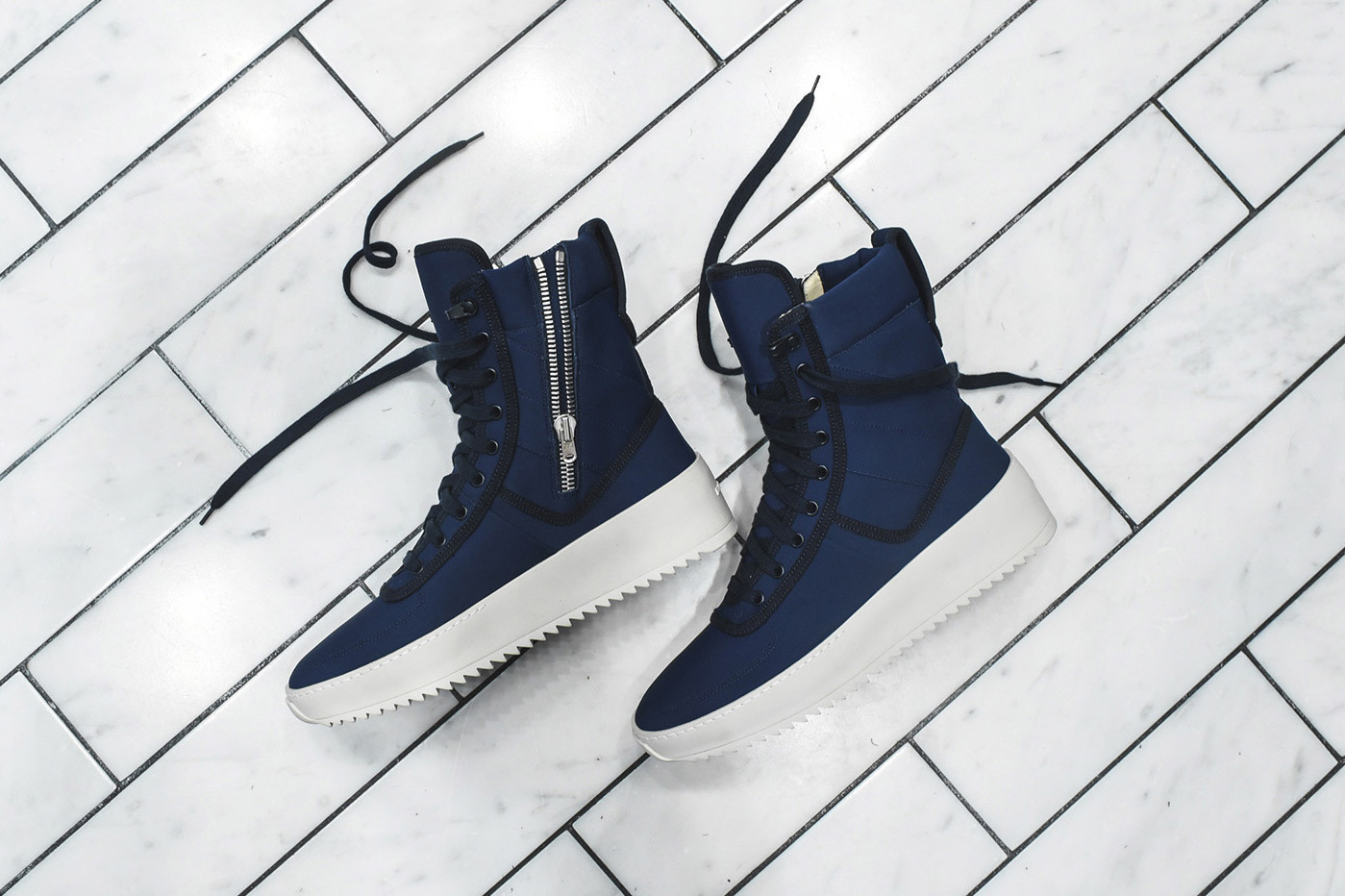 KITH & Fear of God Unveil Eminently Limited Military Sneaker