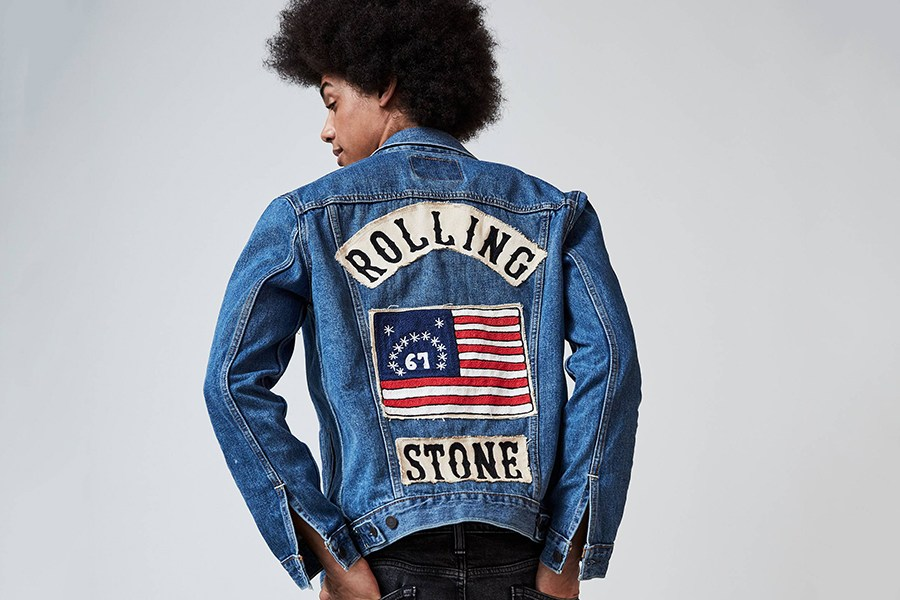 Levi x Rolling Stone Celebrate 50 years