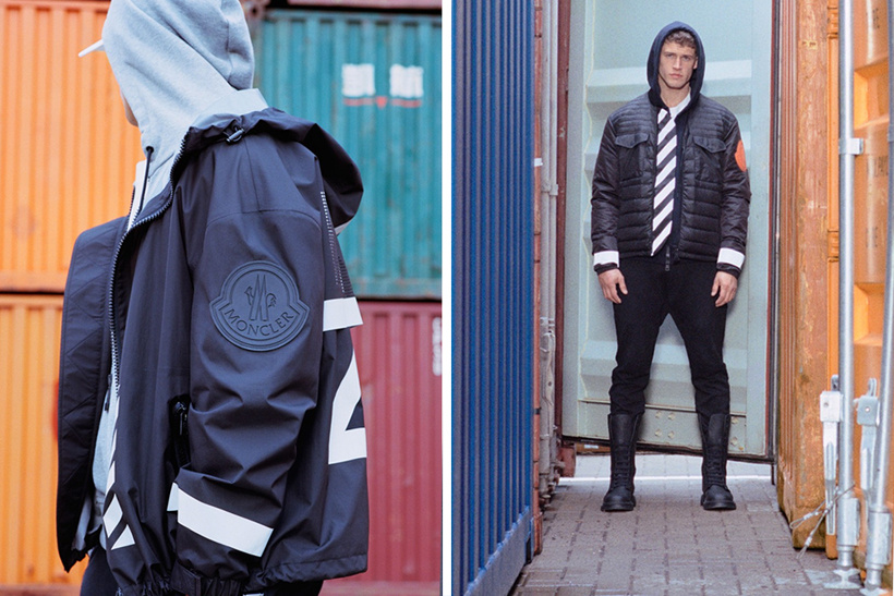 OFF-WHITE x Moncler Released Moncler O Lookbook