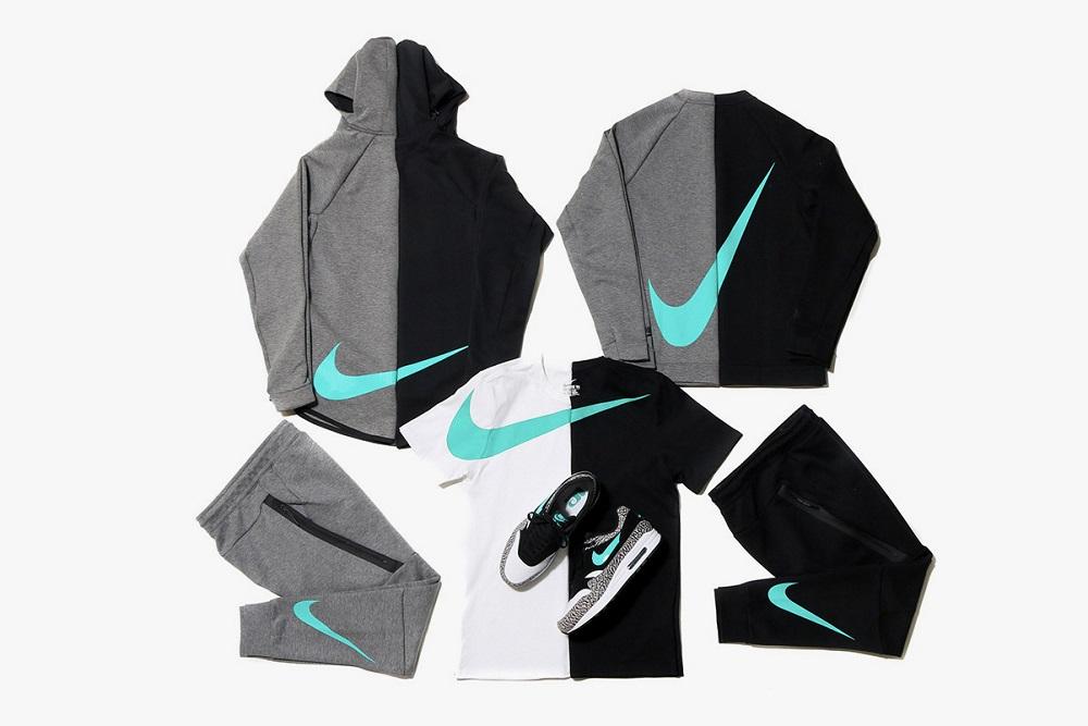 "Nike x atmos Release a ""Big Swoosh"" Tech Fleece Collection"