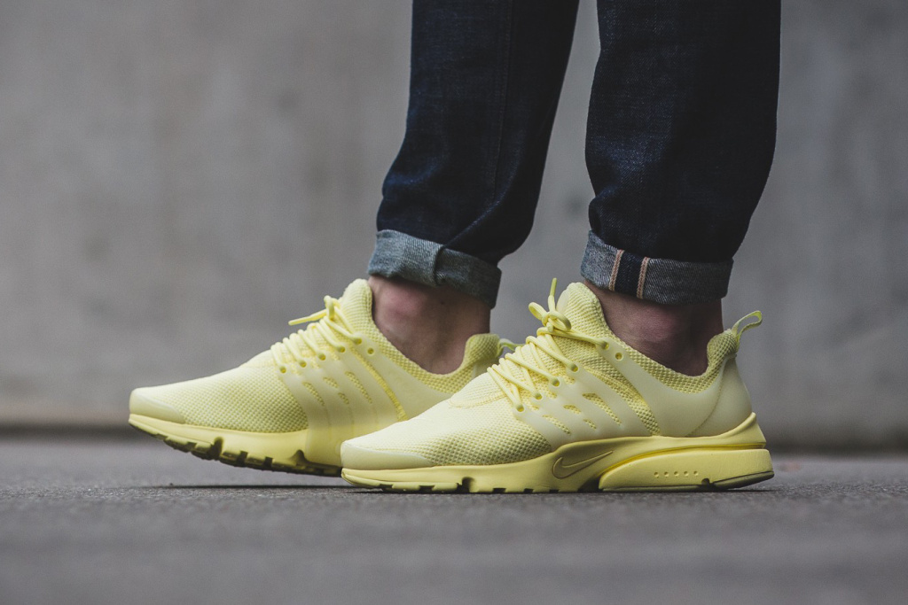 Nike Dropped the Air Presto in Lemony Yellow