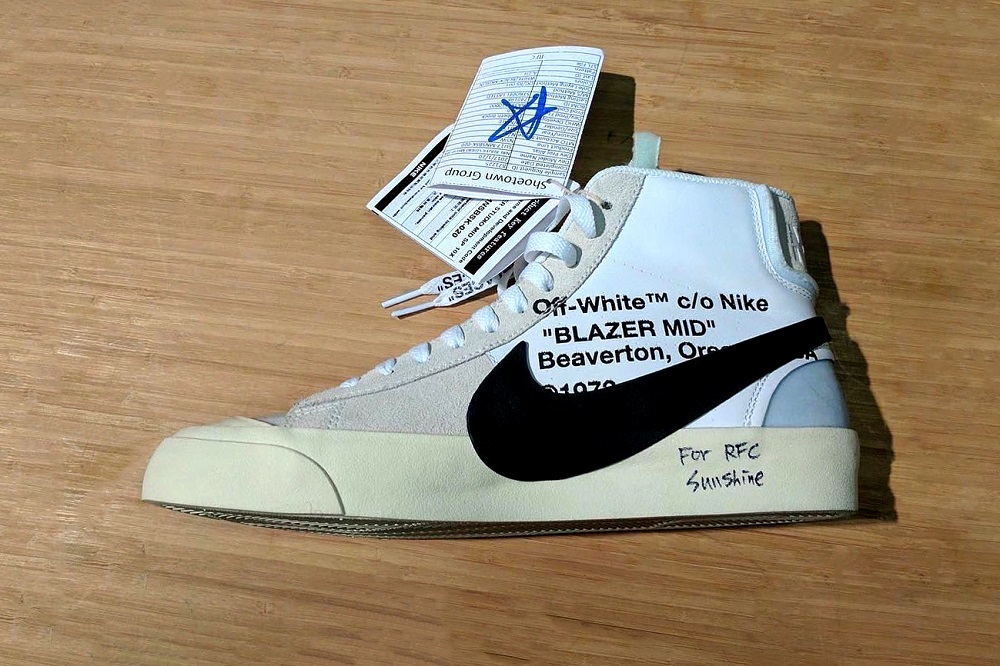 Better Look at OFF-WHITE x Nike Blazer Mid