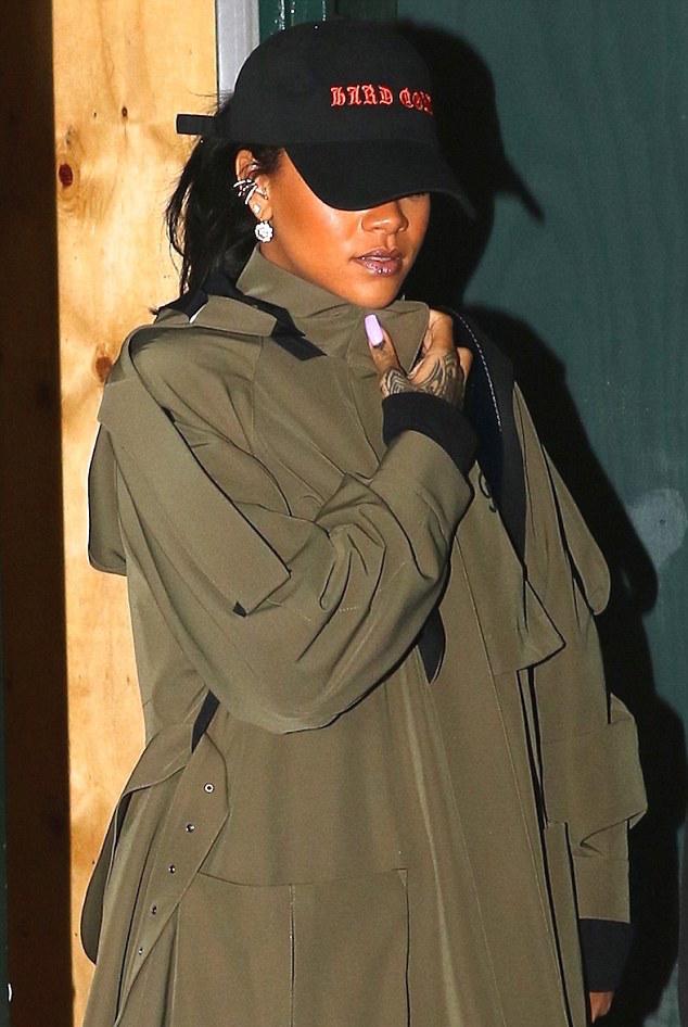 SPOTTED: Rihanna in Fenty x Puma Sneaker Boots